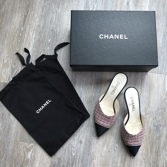 enjoy discount price online retailer new lower prices COCO CHANEL MULES